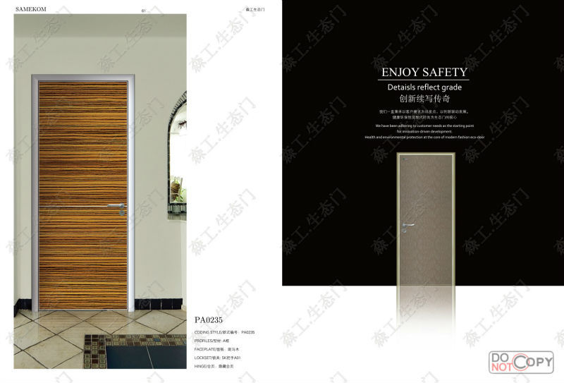 Newest Model Lover Security Door