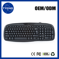 Cheap Price Wired Gaming Keyboard Best PC Gaming Keyboard Wired Standard Office Computer Keyboard
