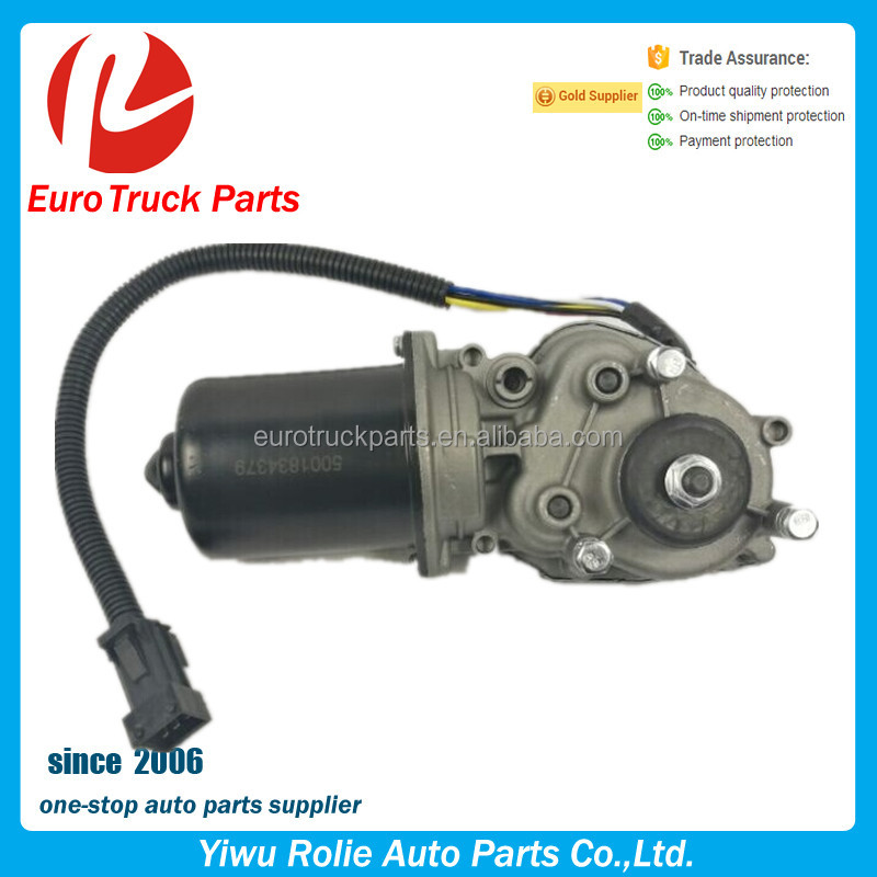 OEM 5001834379 Heavy Duty European Truck Body Parts Renault Premium Tractor 24v Wiper Motor