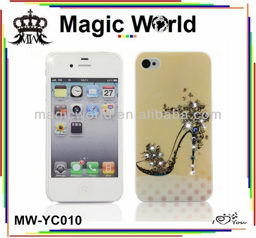 HIGH HEEL CHEAP BLING CELL PHONE COVERS