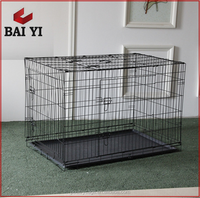 Wire And Tube Dog Cage Metal For Europe and America Type Dog Cage