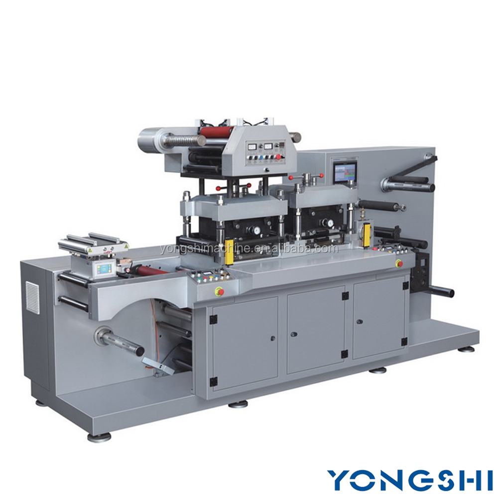 High Speed Label Hot Stamping And Die Cutting Machine With Sheet cutter, Rotary Die Cutting