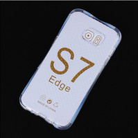 Transparent Clear TPU Silicon Case for Samsung Galaxy S7/S7 edge/S6 edge plus