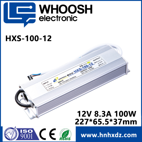 2017 wholesale 100w 12v waterproof led driver power supply