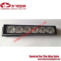 6W LED Strobe Flashing Emergency Vehicle Warning Light
