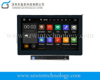 Car dvd supplier CE/FCC/ROHS certification and 10.1 inch 2 dindetachable car dvd player