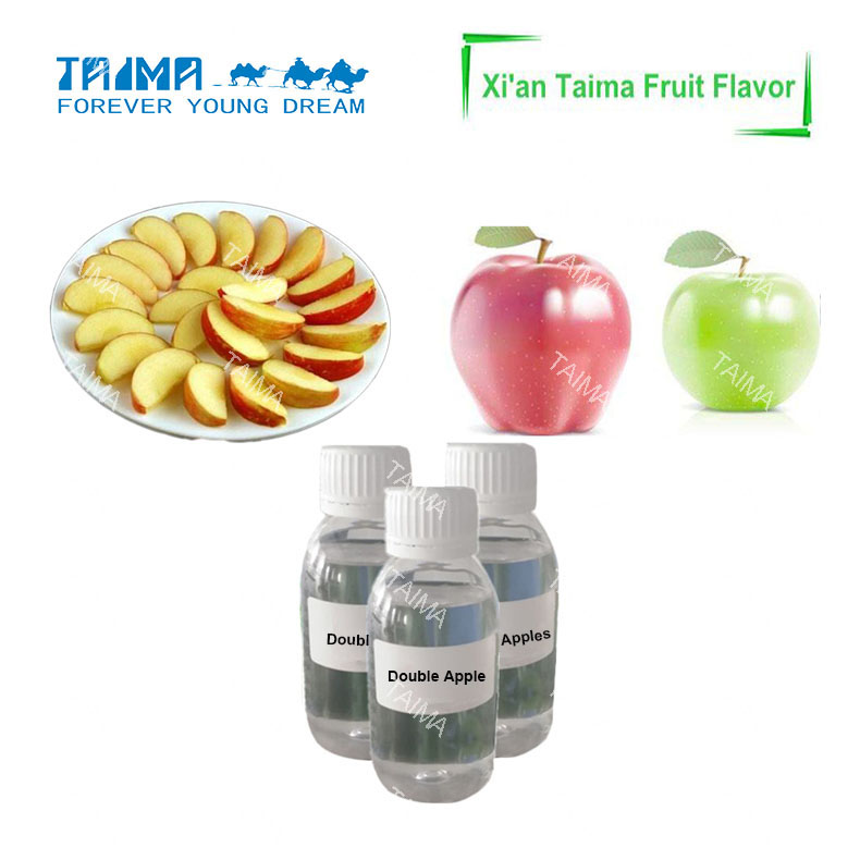 Two apple flavors for hookah,Fruit flavor concentration of hookah essence