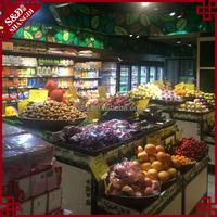 China wholesale reasonable price plastic hand basket for fruit display
