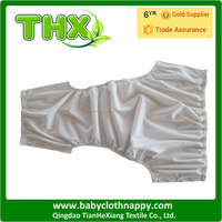 THX Eco-friendly new arrival Adult cloth diaper/nappy Adult pants Plain white color