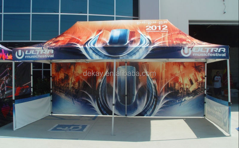4x8m heavy duty aluminum pop up tent gazebo commercial marquee