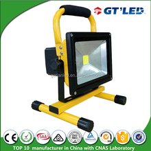 Portable Rechargeable led Flood Light Recharge 5hours Working 10W Led Rechargeable Floodlight