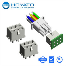 auto/video application electronic connector 6.35mm dia standard