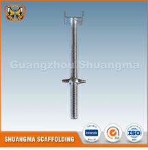EN12810 construction hollow/solid screw jack (Real Factory in Guangzhou)