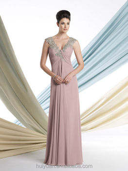 new style chiffon beaded off shoulder wedding&night dress