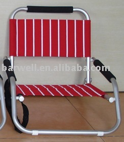alu folding beach chair