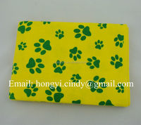 Logo printed nonwoven fabric pet drying cloth (for dog, cat, etc)