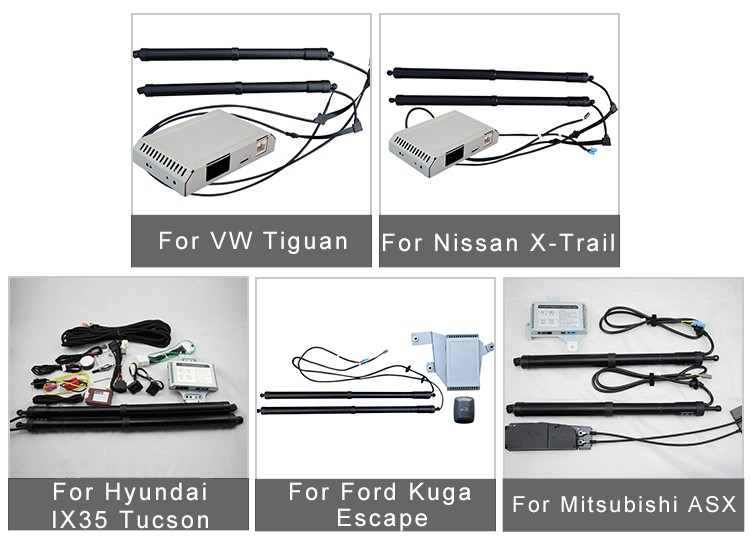 Power Electric Tail Gate Lift Special For Ford Kuga / Escape 2013 - 2017