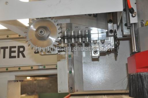 auto tool change wood CNC router furniture making furniture making machine tangential tool and boring unit
