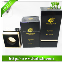 high-grade paper packaging protect hair oil box for glass bottle