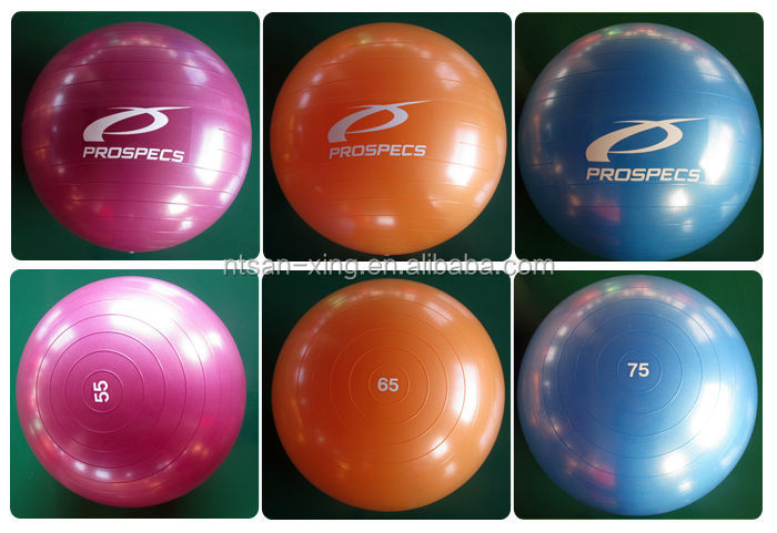 Wholesale Different Size Anti-Burst Yoga Ball