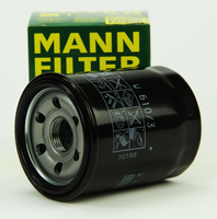 High efficient mann oil filter WD1374/2 for car engine