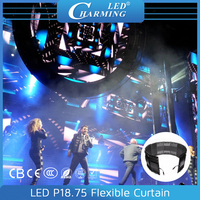 pixelflex led curtain concert satge soft led display rental led curtain screen good for Europe Market in 2016