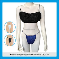 Nonwoven disposable g string for women for spa