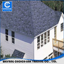 Sea blue color roofing material asphalt shingles prices