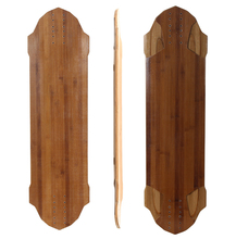 wholesale Longboard deck maple or bamboo and fiberglass longboard deck good quality OEM