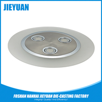 Die casting aluminium led high precision lamp shell