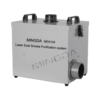 Promotion Price MD-3104 220W exhaust fume extractor, soldering smoke absorber, laser cutting fume extractor