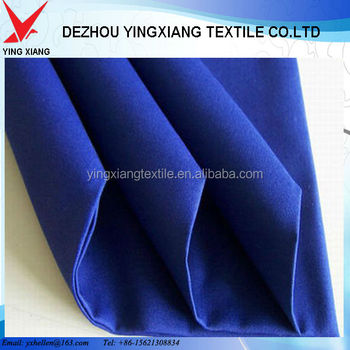 Polyester cotton twill 150gsm-300gsm150cm fabric, cotton workwear fabric