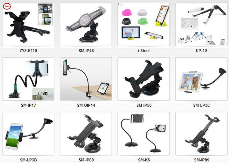 360 adjustable Universal Car Back Seat Headrest Mount Holder Table Bed Holder for Apple iPad 2/iPad 3/iPad 4/iPad mini