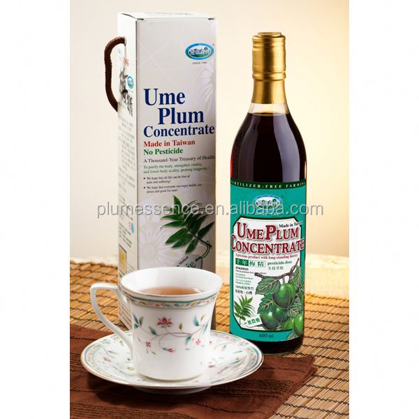 Ume Plum Concentrate Herbal Energy Drinks