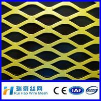 2014 Anping sheet thickness 1.5mm2mm galvanized expanded metal mesh/ Pvc coated expanded wire mesh/ powder coated expanded mesh