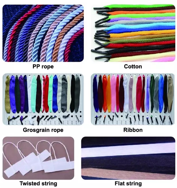 Paper Bags Gift Boxes New Style Colorful Rope Handle With Barbed