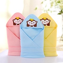blanket swaddling infant Baby cotton Cattle sleeping bag envelope for newborn baby