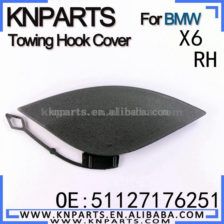 Rear Bumper Tow Hook Cover Cap for BMW X6 E71 E72 08-13 51127176251