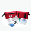 A Customized Wholesale Medical Car Factory Travel Mini First Aid Kit AED Emergency Backpack Survival Pouch Bag with Supplies