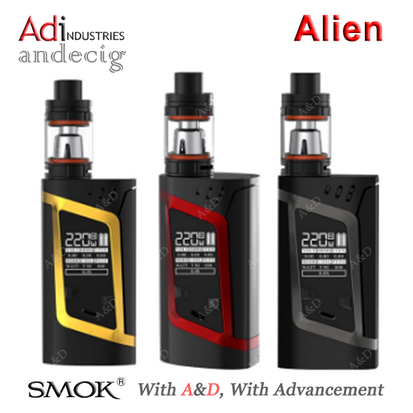 Smok Alien Kit UK 220W Vape Mod & TFV8 Baby Tank