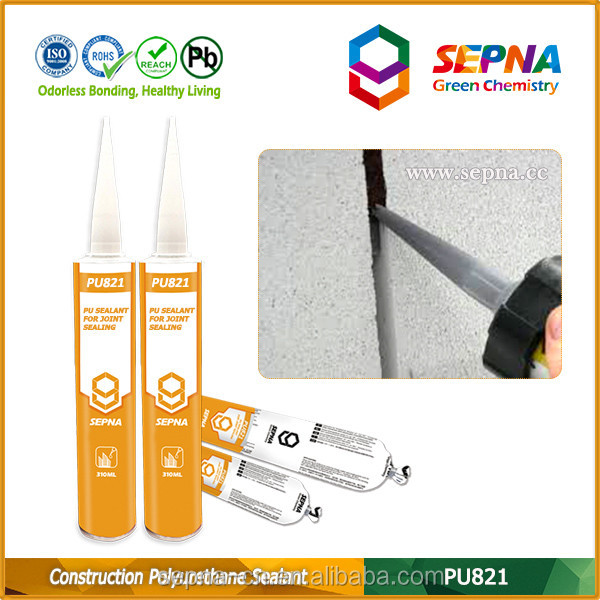 pu sealant non sagging no bubbles mould proof acid resistance seam caulk sealant industrial glue