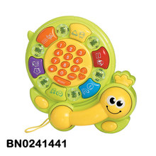 Early Education Cartoon Telephone Toy Baby Enlightenment Toy With Music and Light