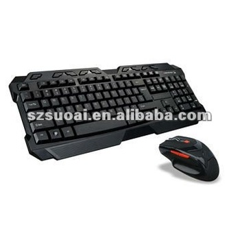 2.4G wireless gaming keyboard and mouse sets 8059