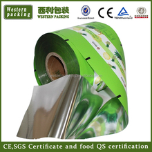 dried food packaging film/frozen food roll film/poly film