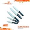 A3418 New design Hot Sale High Quality Stainless Steel Kitchen Knife Set with Non-stick Coating