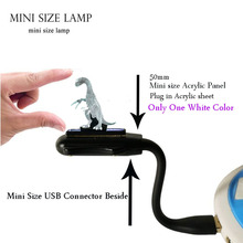 New 2019 3D Dinosaur Jurassic Park LED Night Light Baby Sleep Mini Flexible USB for laptop Desk Mood Luster Children's Day Gift