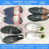 factory directly supply high quality tidy men's second hand shoes used sports shoes export for Africa