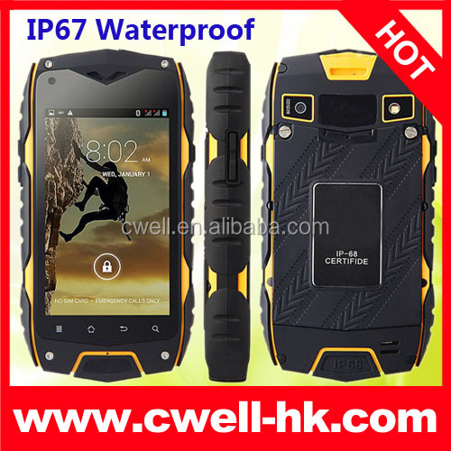 Jeep car shaped china wholesale unlocked waterproof smartphones