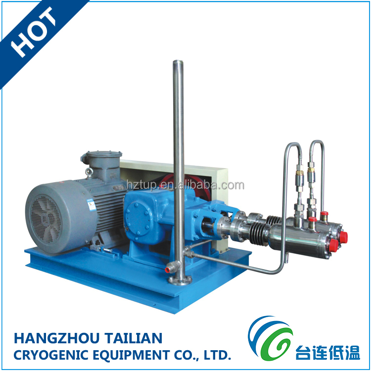 Cryopump LNG Gas Cylinder Fueling Station Cryogenic Equipments