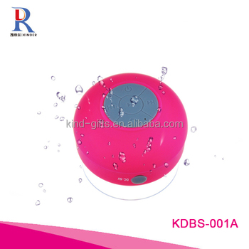 shiny mini diamond acrylic crystal promotion gifts speaker waterproof bluetooth speaker